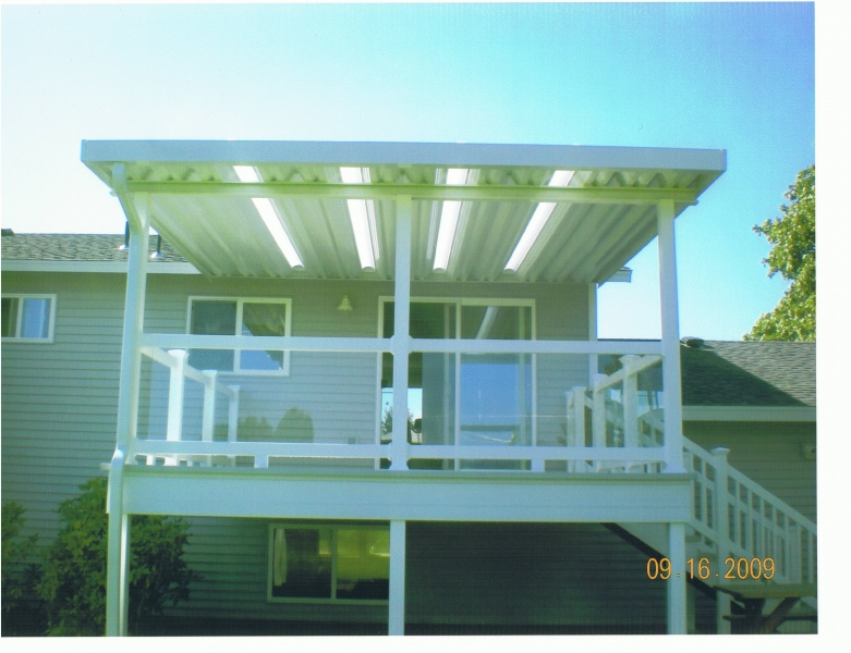 Aluminum Patio Covers And Deck
