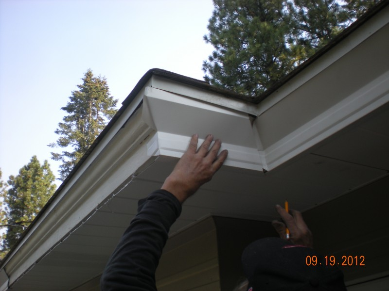 Painting Aluminum Gutters And Fascia