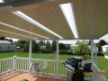 View from new deck and aluminum patio cover