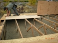 Re sheet roof deck with CDX plywood, replacing the OSB board
