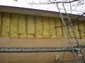 Vinyl siding, insulation and re sheeting wall replacement because of LP siding