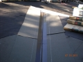 Looking up the roof pitch at metal w valleys and installing GAF Ultra 50