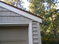 Portsmouth shake vinyl siding on gables and horizontal vinyl siding on sides with aluminum garage and fascia wraps