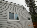 After picture of completion of additional lumber on fascia prior to wrapping with aluminum