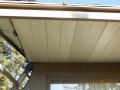 Aluminum soffit and aluminum fascia