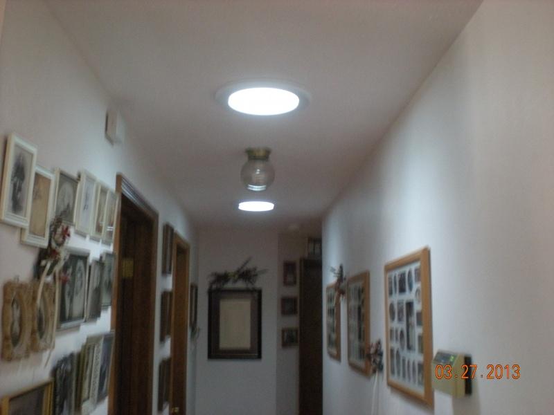 sun tunnel skylight in hall