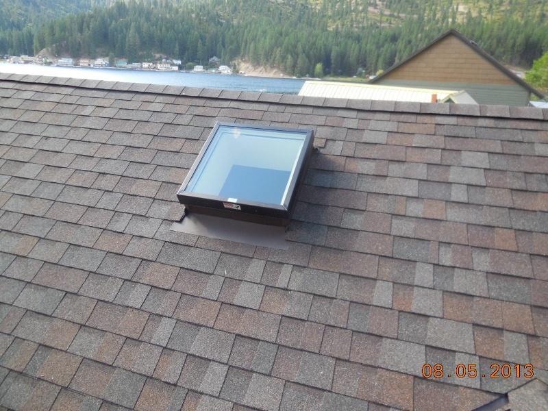 2 x 2 flat glass Low E skylight