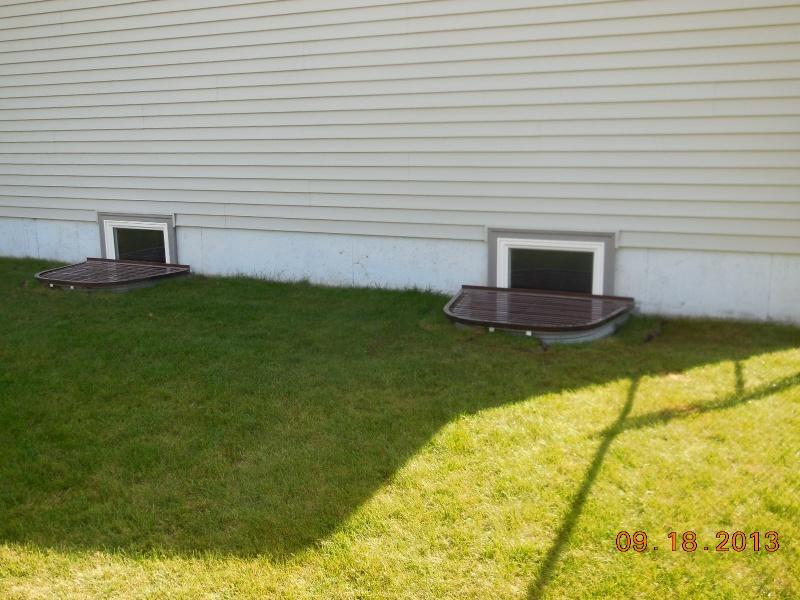 after 2 egress windows installed